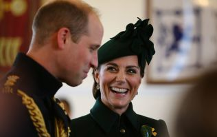 Kate Middleton sports a full green outfit to attend St Patrick's Day events in London