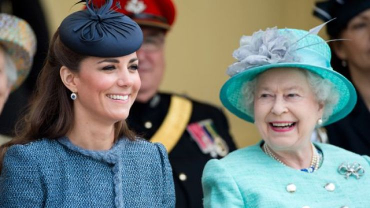 Kate Middleton has had her first solo royal engagement with the Queen