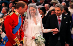 What Prince William said to Kate's dad after he walked his daughter up the aisle is TOO much