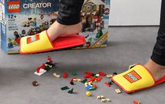 Anti-Lego slippers finally exist and they'll be a lifesaver for parents