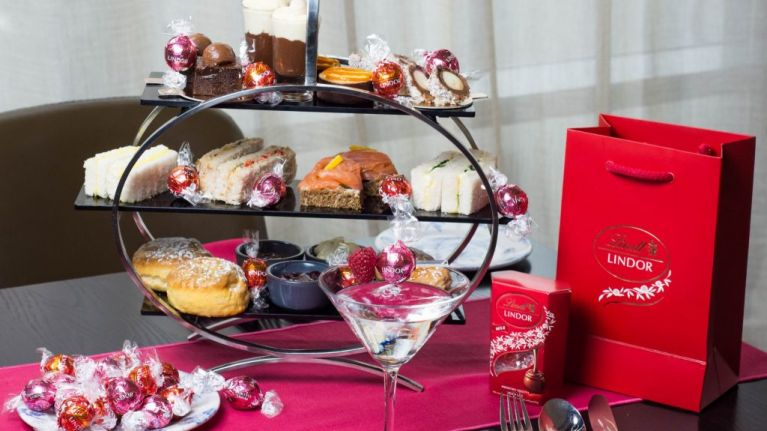 Lindt chocolate cocktails are part of afternoon tea at this Dublin hotel