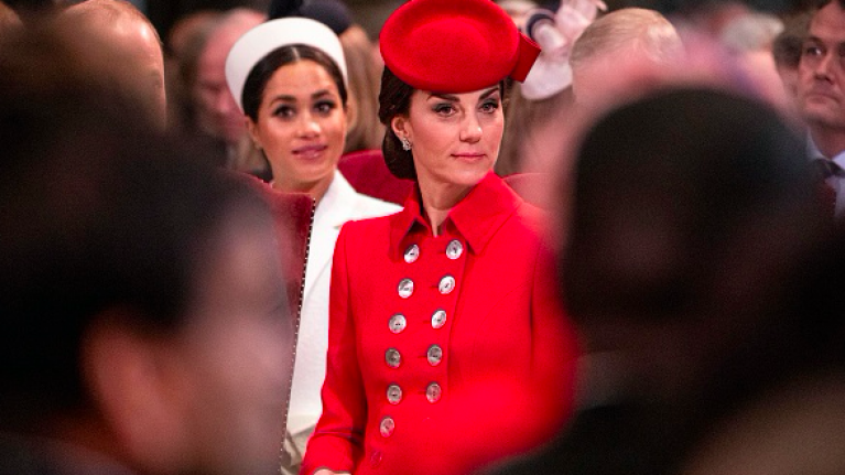 New photos of Meghan Markle and Kate Middleton show that they are BFFs