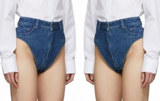 Everyone is baffled by these €275 denim shorts that show off your arse
