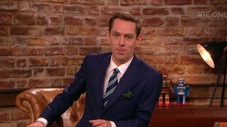 There's a decent mix of guests on the Late Late tonight - but Graham Norton's is better