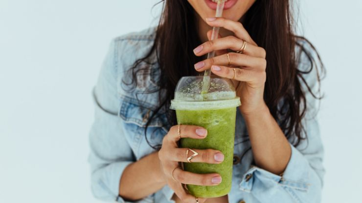 Summer is finally on the way and this lactose-free avo shake is just what you need