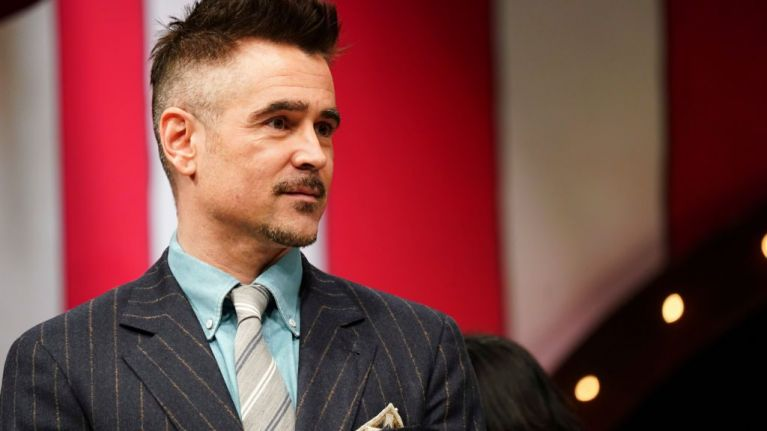 Colin Farrell's going to be on the Late Late Show tonight so you might as well stay in