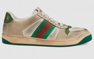 Gucci is selling already dirty runners for €719... and yes, they include diamonds