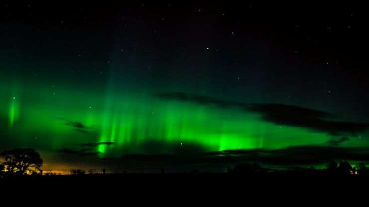 There's a chance the Northern Lights may be seen above Ireland this weekend
