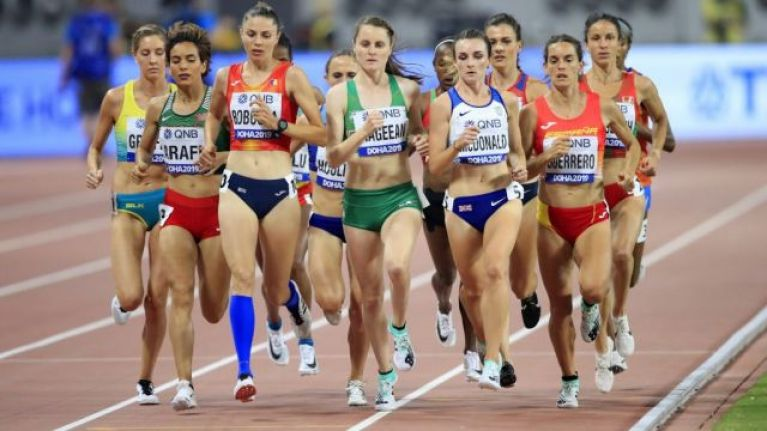 Ciara Mageean comes in 10th place in the 1,500 World Athletics Championship final