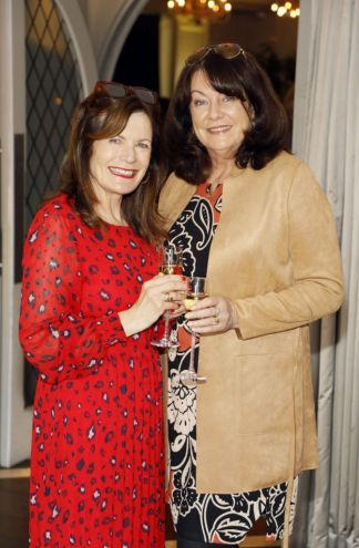 Hilda Smith and Dee Flannelly