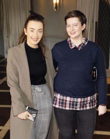 Clodagh Dooley and Shauna McCrudden