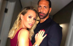 Kate Wright and Rio Ferdinand got married last week, and the wedding dress was UNREAL