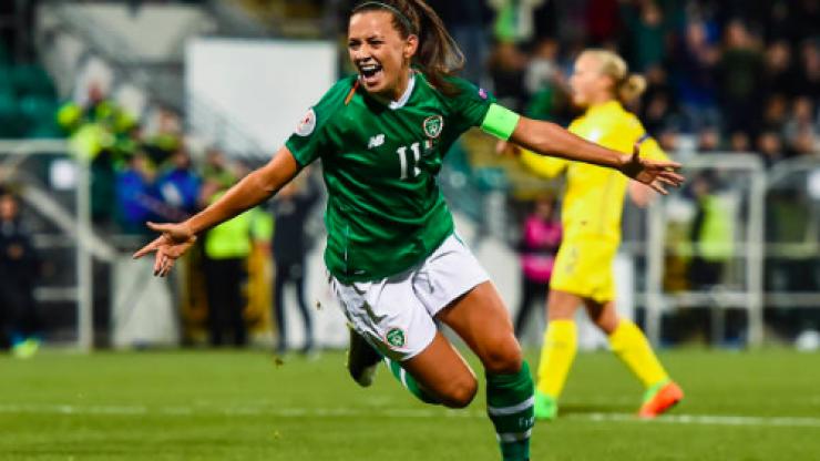 Ireland emerge victorious over Ukraine in tonight's women's Euro 2021 qualifier