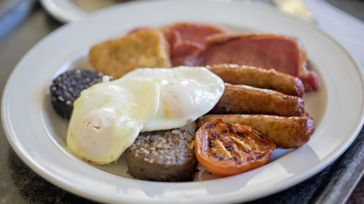 You can get breakfast delivered to your door ahead of the match on Saturday