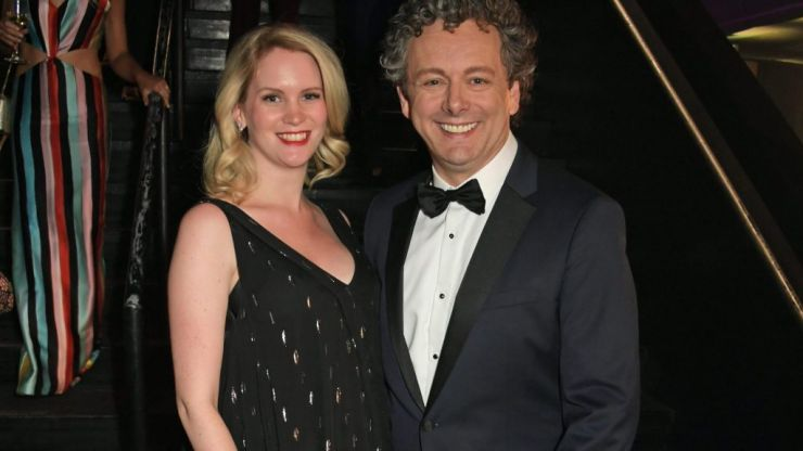 Michael Sheen shares first photo of his newborn daughter (and reveals her adorable name)