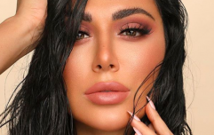 Huda Beauty's lash glue lets you remove and reapply lashes in seconds, apparently
