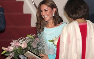 Kate Middleton paid tribute to Princess Diana on the first night of the Pakistan royal tour