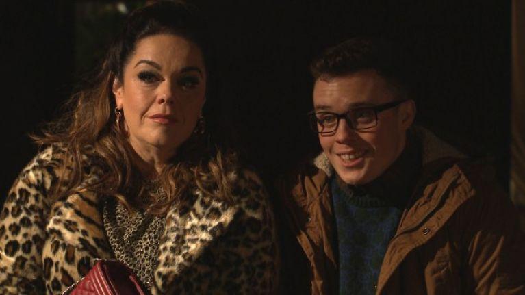 Emmerdale's Vinny Dingle isn't really Mandy's son, Lisa Riley says