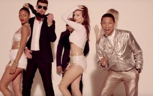 'My mind opened up' Pharrell Williams 'embarrassed' by Blurred Lines lyrics