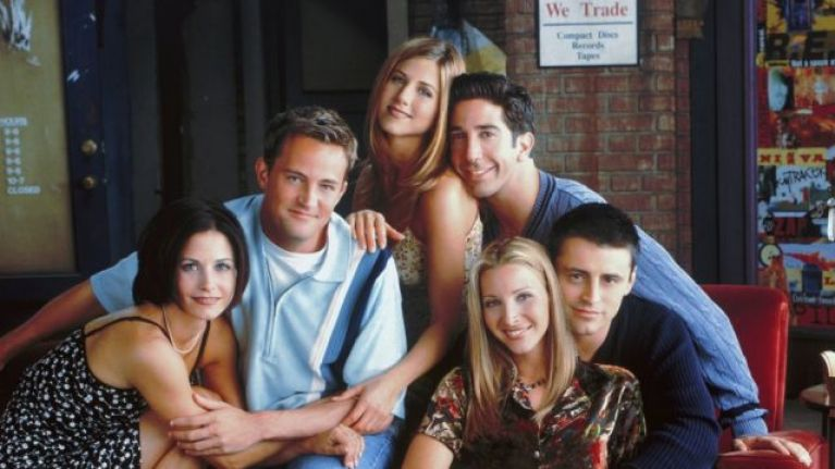 Jennifer Aniston just shared her first Instagram post featuring ALL the friends
