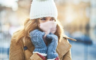According to Met Eireann the weather will be VERY cold this weekend, so wrap up