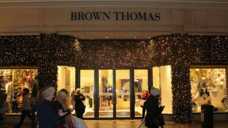 Brown Thomas has opened its Christmas shop - 99 days before Christmas