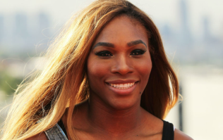 Serena Williams had a pretty stunning bridesmaid dress for her sister-in-law's wedding