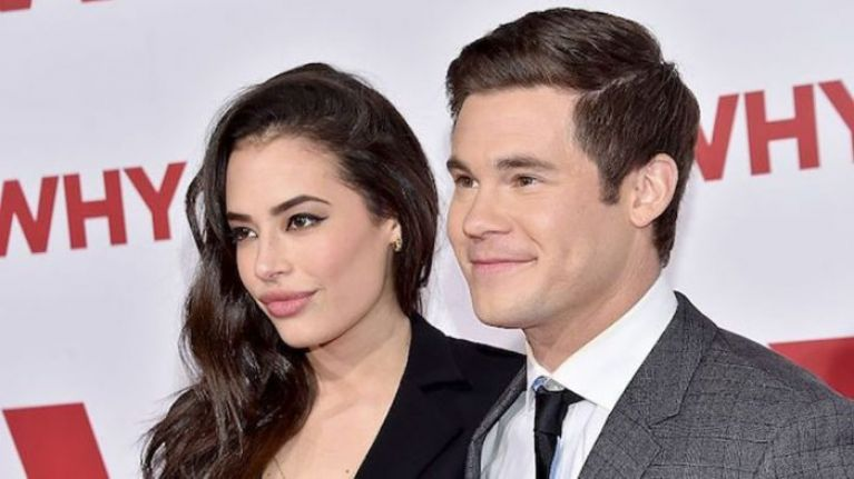 Adam DeVine and Chloe Bridges have announced they are engaged