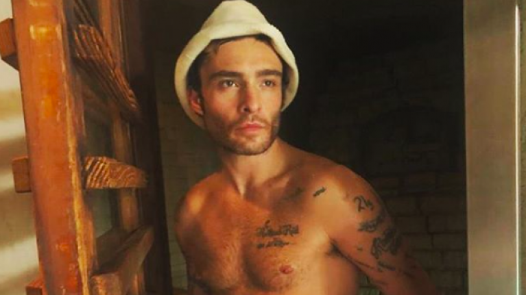 Ed Westwick has found love again, one year after splitting from Jessica Serfaty