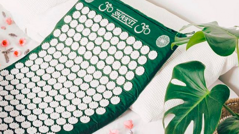 "Wellness: I tested a Shakti Mat and here is what laying on a bed of ""nails"" actually did for me"