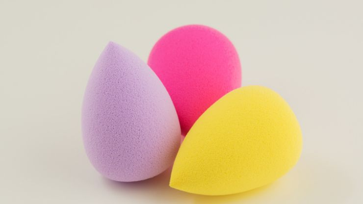 We found a really simple hack that will clean your beauty blender in one minute