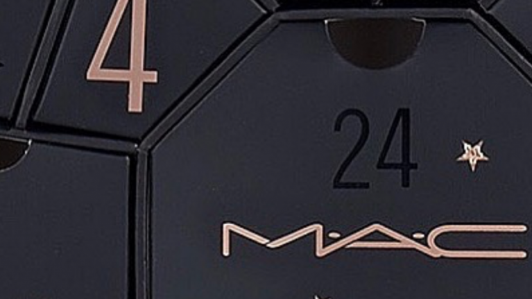 The MAC advent calendar includes 24 products (with a full-sized Velvet Teddy lipstick!!!)