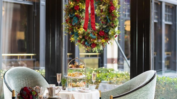 The Westbury launches a Festive Afternoon Tea - we're already planning a girls day out