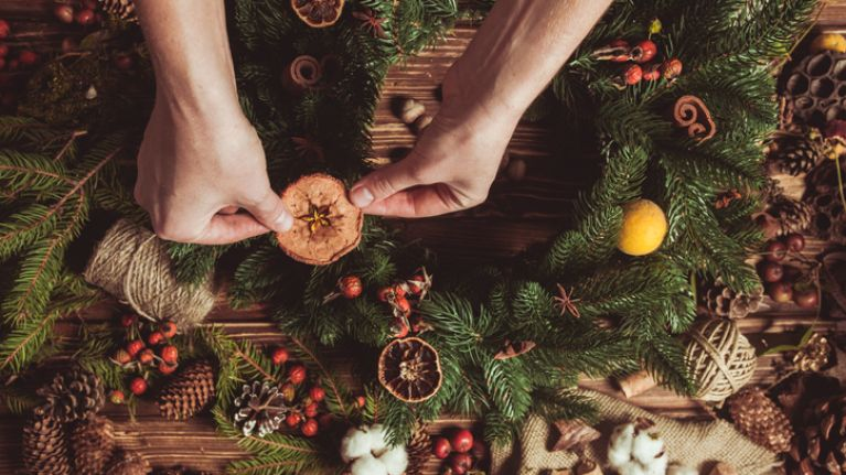 PSA: There's a free Christmas event where you can learn how to make a gorgeous festive wreath