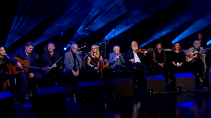 WATCH: A gorgeous rendition of 'The Parting Glass' on last night's Gay Byrne tribute