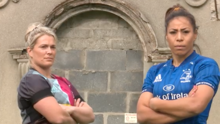 The Leinster women's rugby team are set to play a massive game in Twickenham stadium
