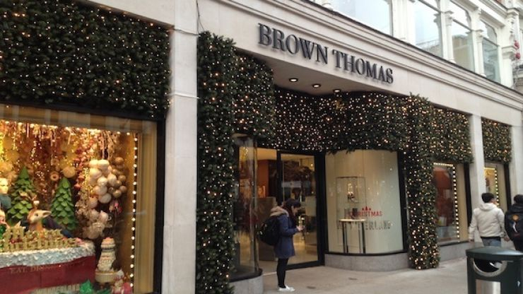 Book us in - Brown Thomas has launched a new afternoon tea menu for the festive season