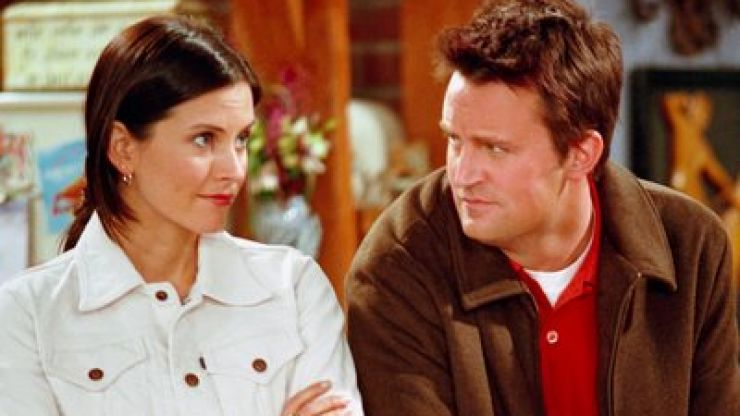 Friends fans couldn't BE any happier about Monica and Chandler's reunion snap