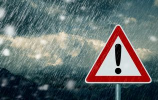 A rainfall weather warning has been issued for one county in Ireland