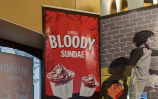 McDonald's Portugal has apologised for that Halloween bloody sundae