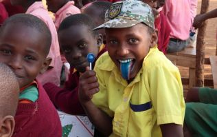 Missed your chance to fill a Christmas charity shoebox? Team Hope will send one to a child in Kenya for you