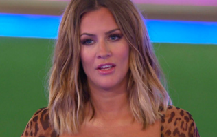 Caroline Flack gives first look of Winter Love Island as she lands in Cape Town