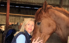 Yvonne Connolly says she's grateful to be alive after a serious horse riding accident