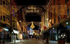 Dublin's Christmas lights are being switched on some time this week