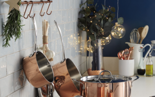 Aldi's new copper collection includes a divine drinks tray for just €16