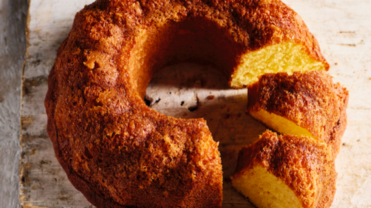 Having friends over for brunch? Rick Stein's rich cake recipe is sure to impress