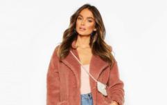 Boohoo's bargain Black Friday sale - Five cosy coats we're crushing on