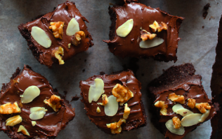Feeling the pre-Christmas stress? Whip up a batch of these mood-boosting brownies