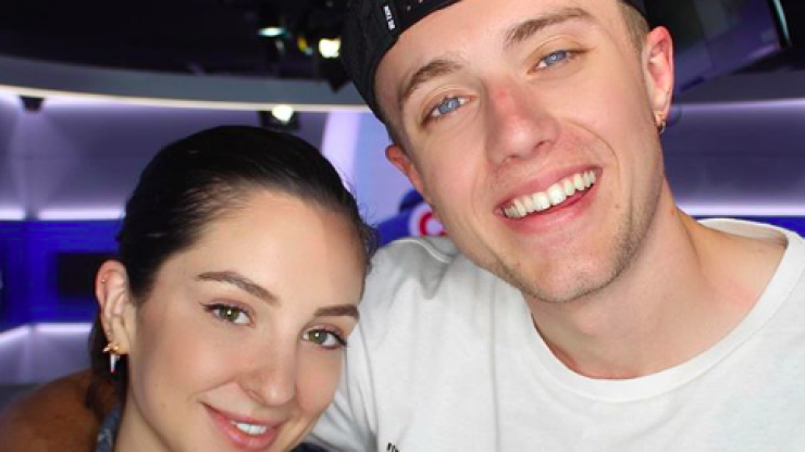 I'm A Celeb: Roman Kemp's girlfriend shares witty snap as she touches down in Australia