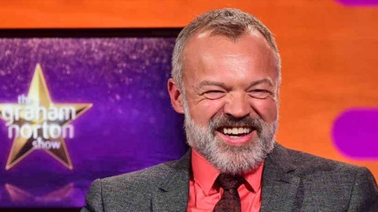 Here's the line-up for tonight's Graham Norton Show